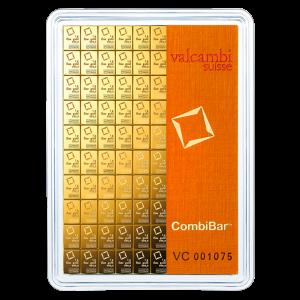 100 gram (100 x 1 g) Valcambi Gold CombiBar