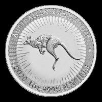 Moneda de platino Canguro Australiano 2020 de 1 onza