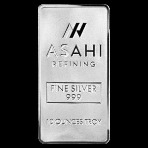 10 oz Asahi Silver Bar