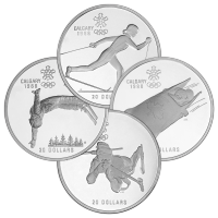 1988 $20 Canada Olympics Commemorative Proof Silver Coin