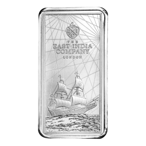 250 gram 2021 Saint Helena Legal Tender Silver Bar