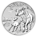 2 oz 2021 Perth Mint Lunar Year of the Ox Silver Coin