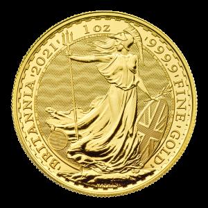 1 oz 2021 Britannia Gullmynt