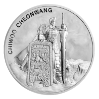 1 oz 2019 South Korean Chiwoo Cheonwang Silver Round