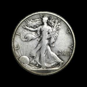$100 Face Value Bag of Walking Liberty Half Dollar 90% Pure Silver Circulation Coins