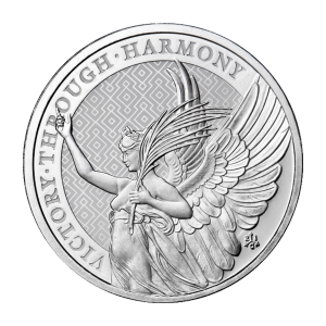 1 oz 2021 Saint Helena | The Queen's Virtues: Victory | Silver Coin