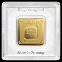 10 gram Geiger Edelmetalle Gold Bar