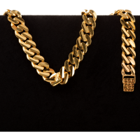 50.0 g 22 kt Curb Style Gold Bracelet