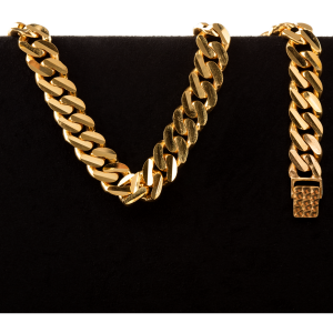 Bracelet en or 22 carats de style courbé de 43,0 grammes