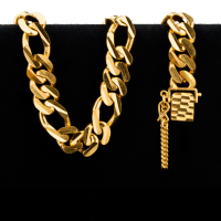 73 g Goldarmband - Figarucci Stil - 22 Karat