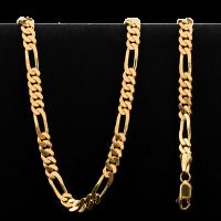 Collier en or 22 carats de style Figarucci de 37,5 grammes