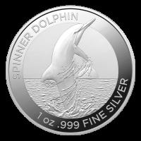 1 oz 2020 Australian Dolphin Silver Coin