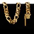 55.0 gram 22 kt Figarucci Style Gold Bracelet