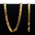 68.0 gram 22 kt Curb Style Gold Necklace