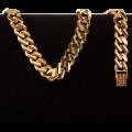 25.0 gram 22 kt Curb Style Gold Bracelet
