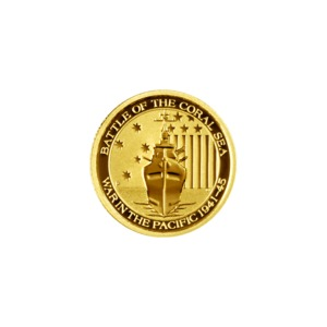 Coral Sea 1/10 Ounce Gold Bullion Coin