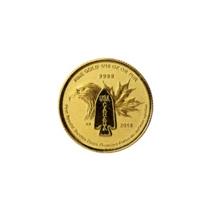 First Special Service Force - 1/10 Ounce Gold Bullion Coin