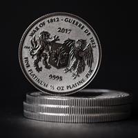 War of 1812 - 1/2 Ounce Platinum Bullion Coin
