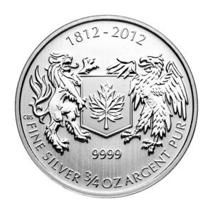 War of 1812 3/4 Silver Bullion Coin