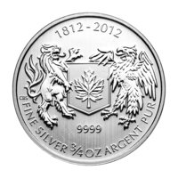 War of 1812 3/4 Silver Bullion Coin