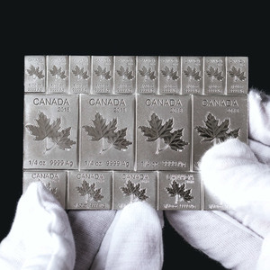 RCM Mapleflex - 2 Ounce Silver Bar
