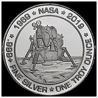 Apollo 11 -50th Anniversary Silver Commemorative