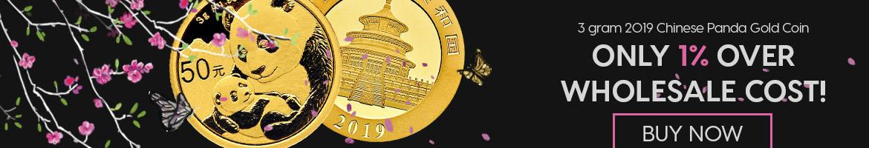 3 gram Gold Panda
